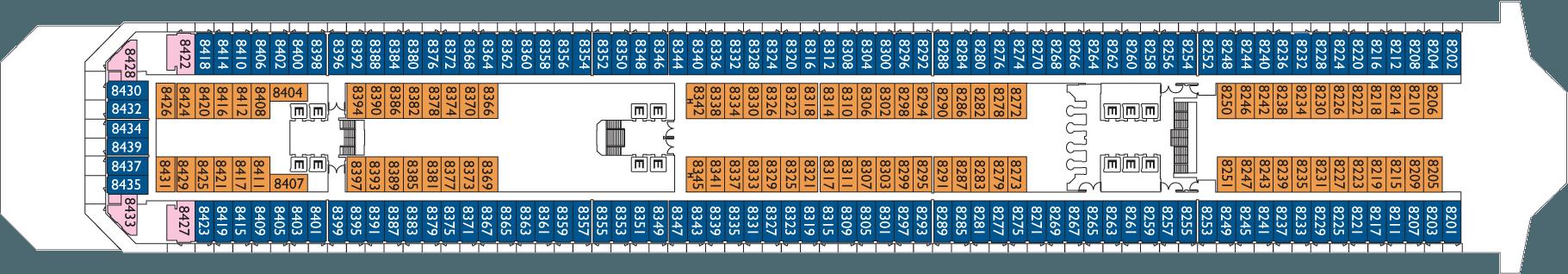 Deck 8 Vigo