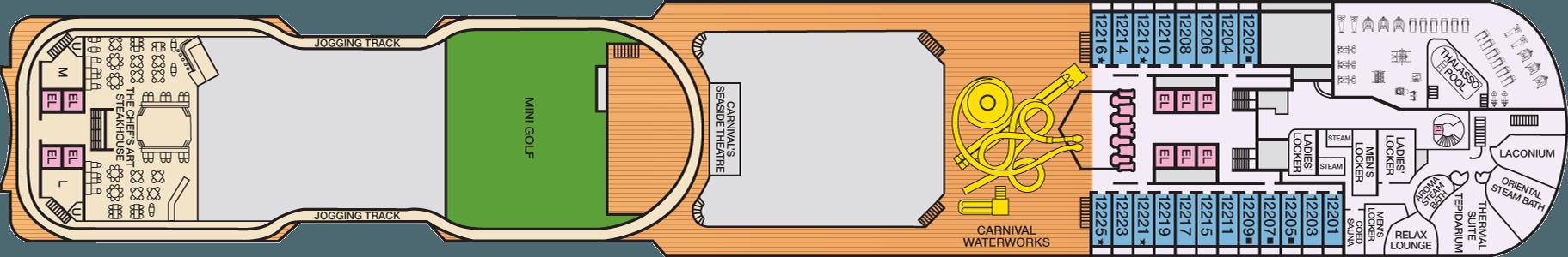 Deck 12 Spa