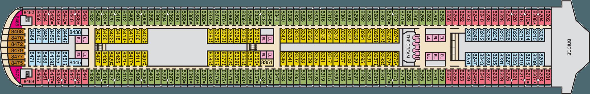 Deck 8 Veranda