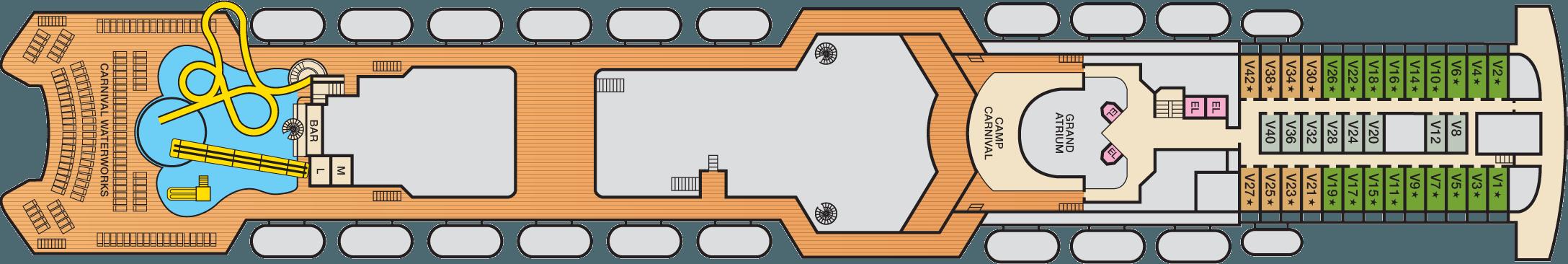 Deck 11 Veranda