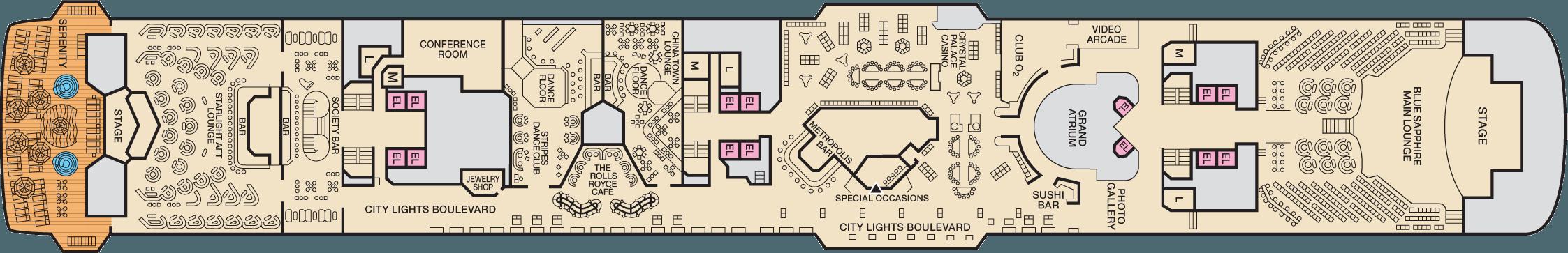 Deck 9 Promenade